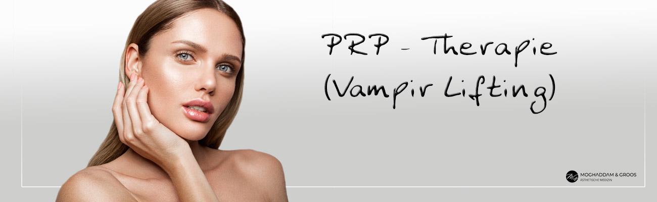 Vampir-Lifting (PRP - Therapie)- Banner