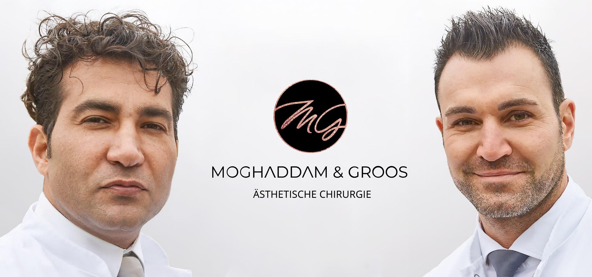 Moghaddam und Groos Ästhetische Chirugie- Startseitenbild