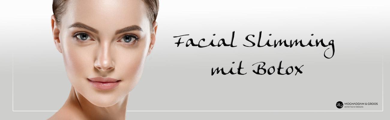 Facial Slimming/Bruxismus behandeln mit Botox