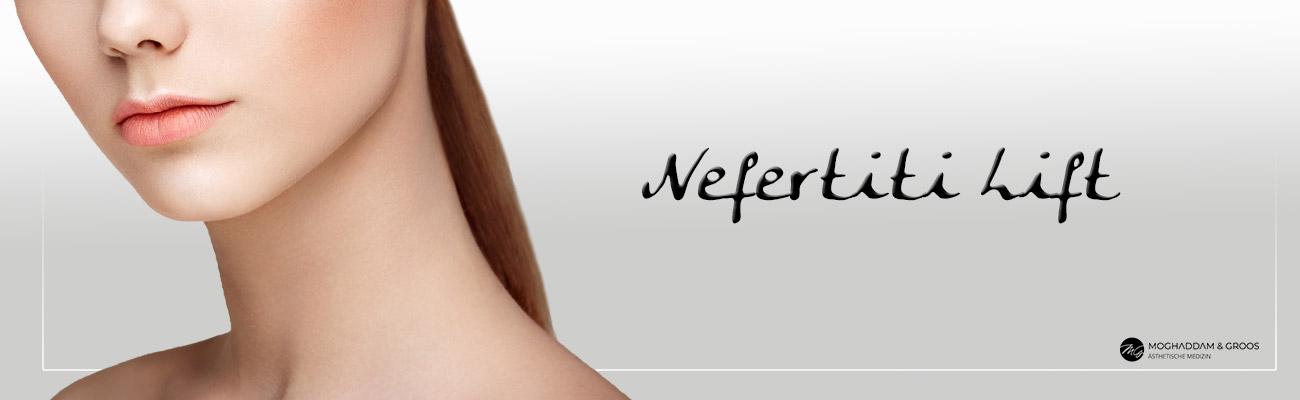 Halsstraffung mit Botox/Nefertiti Lift